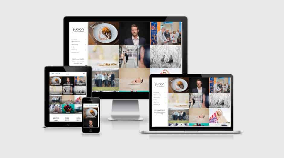 Responsive WordPress Web Design - Fusion Photography