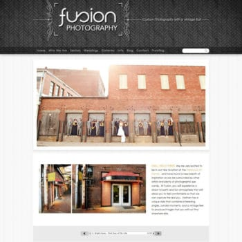 fusionphotopro homepage - before