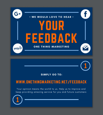 Local business reviews why they matter how to get more we also provide postcards to mail follow up email templates and posters to display at their business that request an online review with a simple link to reheart