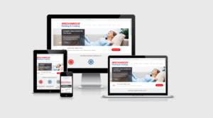 Responsive WordPress Web Design - Breckinridge Heating and Cooling