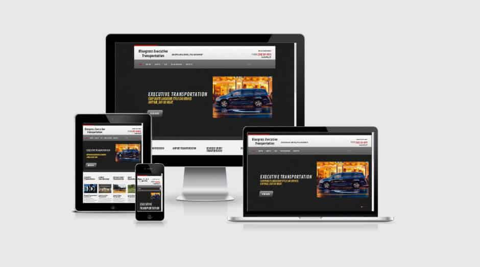 Responsive WordPress Web Design - bluegrassexecutivetransportation.com