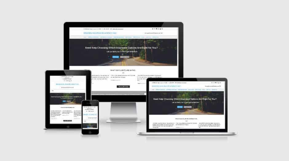 Responsive WordPress Web Design - Braden Insurance