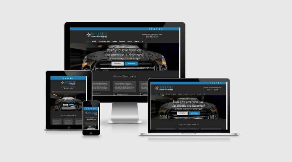 xclusiveautodetailing.com - responsive design