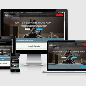 Responsive Wordpress Web Design - Paws Pet Care