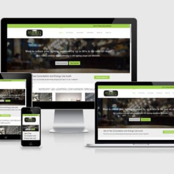 Responsive Wordpress Web Design - Restaurant Lighting Concepts