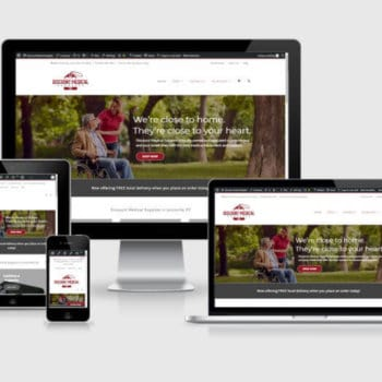 Responsive Wordpress Web Design - Discount Medical Supplies