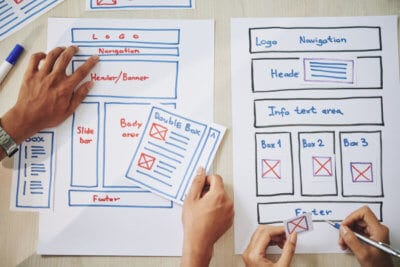 The upfront cost of a web design will be paid off by the long-term benefits.