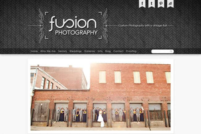 fusionphotopro.com homepage