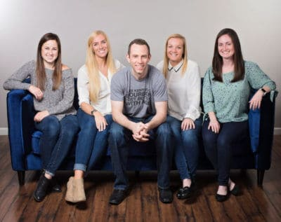 The team from One Thing Marketing, a digital marketing agency, in Louisville, KY.