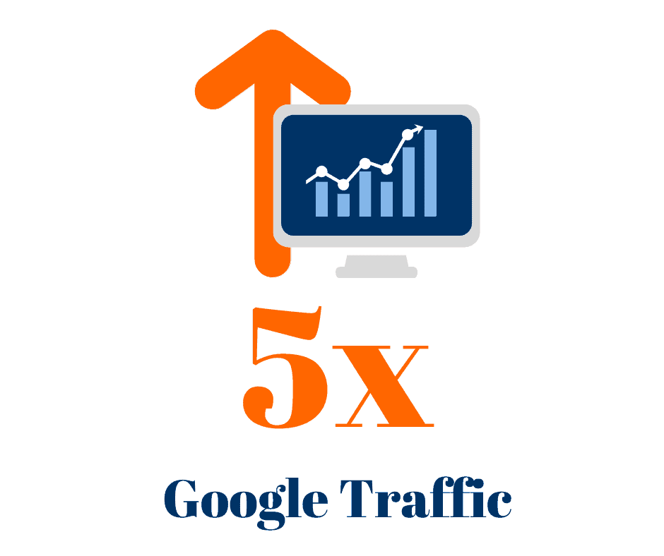 We increased our paving client's Google traffic by 5x in 4 months.