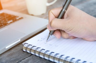 Creating a to do list is one of many marketing ideas for Louisville business owners.